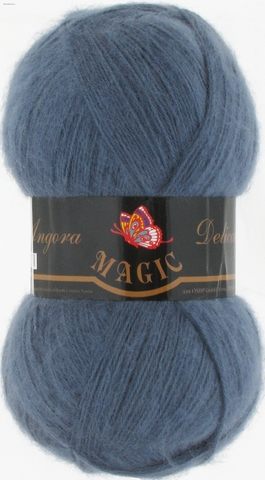 Angora Delicate 1134 Темно-джинсовый Magic - купить в интернет-магазине пряжи