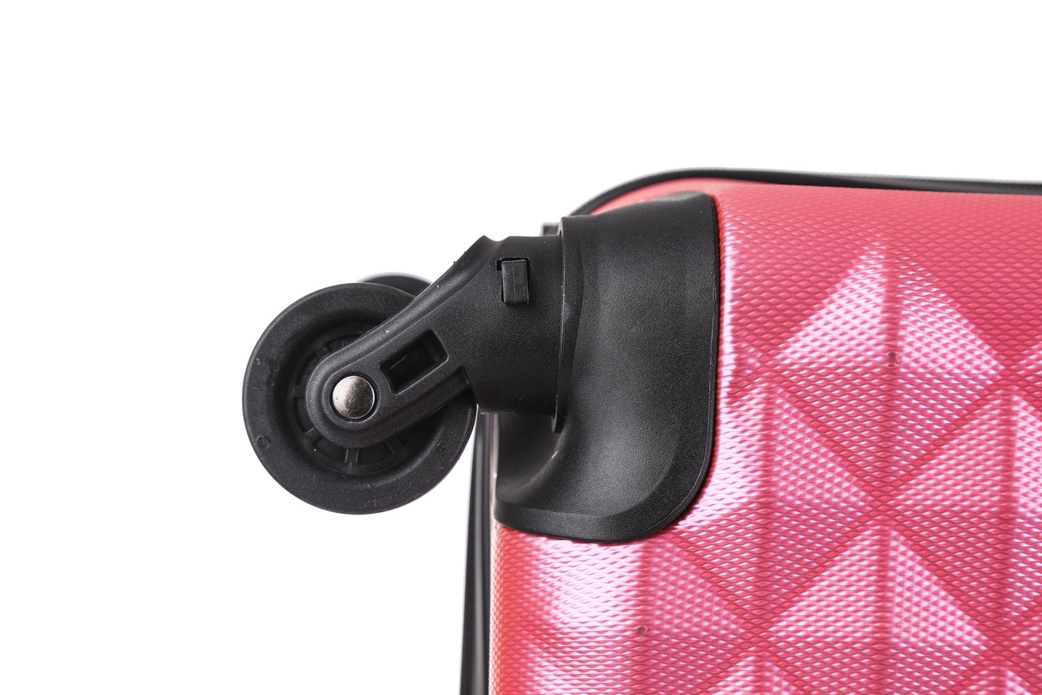 Чемодан со съемными колесами L'case Phatthaya-20 Розовый ручная кладь (S)
