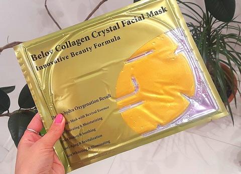 Коллагеновая маска для лица с минералами Belov