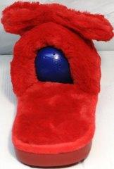 Красивые женские домашние тапочки Yes Mile A-08 Red Bow.