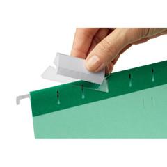 Ярлычки для подвесных папок Esselte пластиковые (50 мм, 25 штук в упаковке)