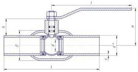 Конструкция LD КШЦП GAS Н/П