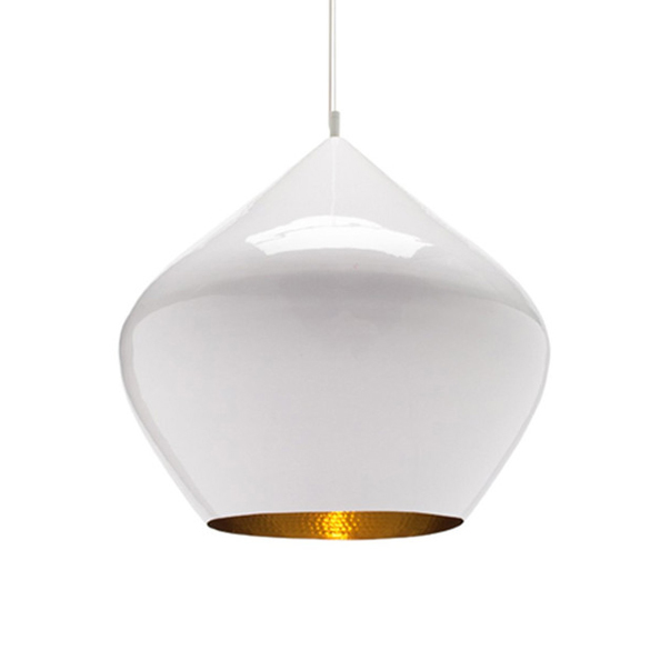 Подвесной светильник копия Beat Light Stout by Tom Dixon D52 (белый)