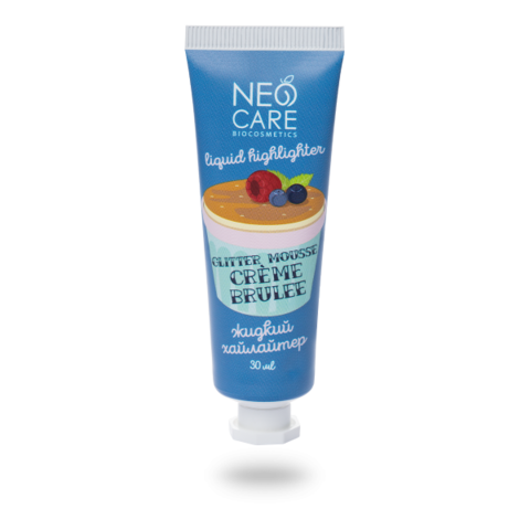 Neo Care Хайлайтер Glitter mousse creme brulee, 30мл