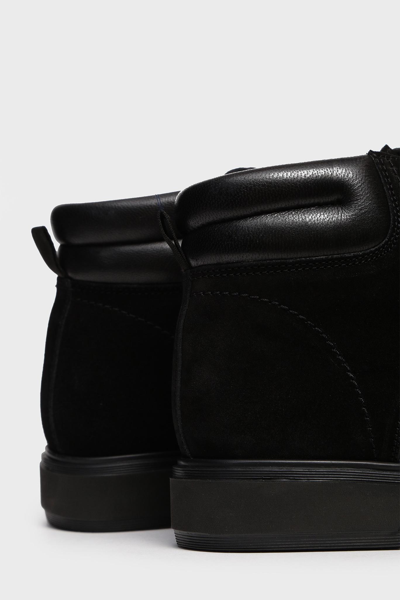 Мужские черные замшевые ботинки Essex Preppy
