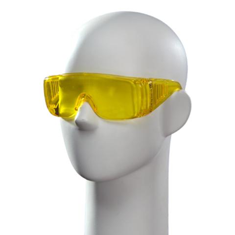 Очки защитные открытые желтые