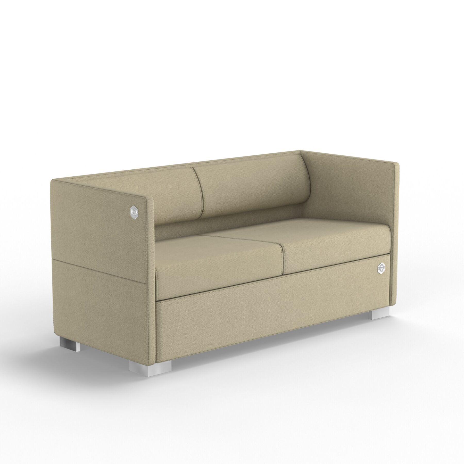 Двухместный диван KULIK SYSTEM LOUNGE Ткань 2