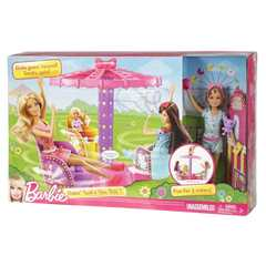 Игровой набор Barbie Сёстры на карусели с куклой Stacie
