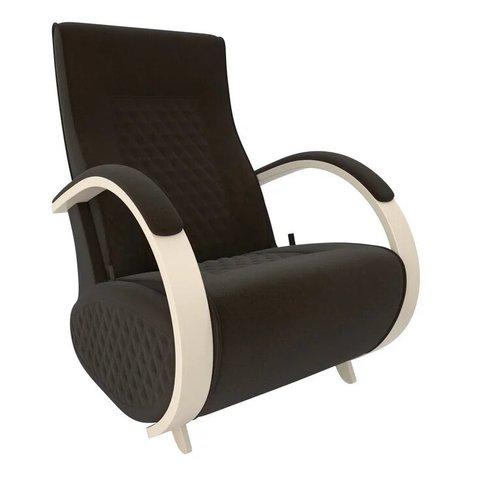 Кресло-глайдер Balance Balance-3 с накладками, дуб шампань/Verona Wenge, 014.003