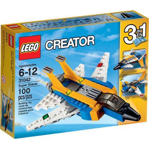 LEGO Creator: Реактивный самолет 31042 — Super Soarer Misb — Лего Криэйтор Создатель Созидатель