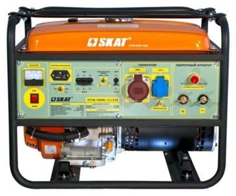 Генератор сварочный бензиновый Skat УГСБ-4500(-1)