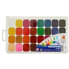 Акварельные краски Луч Классика медовые 32 цвета