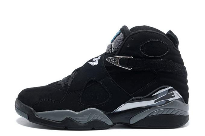 Air Jordan 8 Retro 'Black/Chrome