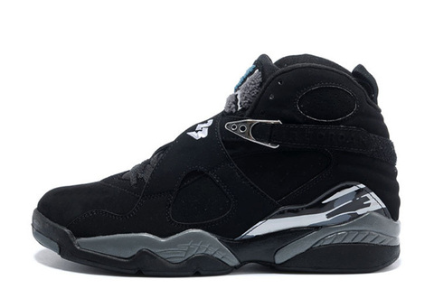 Air Jordan 8 Retro 'Black/Chrome'