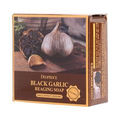Deoproce Soap Black Garlic - Мыло с экстрактом черного чеснока