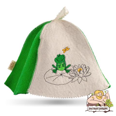 Детская шапка для бани и сауны
