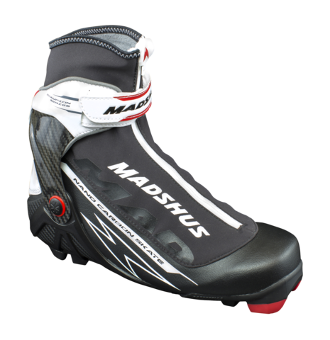 Профессиональные лыжные ботинки Madshus Nano Carbon Skate для конькового хода