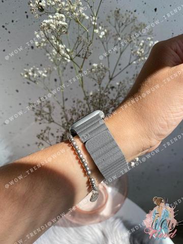 Ремешок Apple watch 38mm Leather Loop /charcoal gray/
