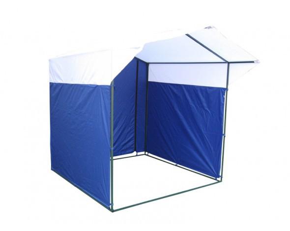 Торговая палатка Митек Домик 2х2 из трубы Ø25 мм тент ПВХ водонепроницаемая