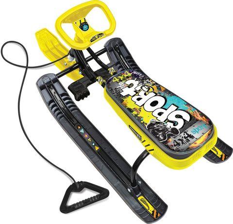 Снегокат «Тимка спорт 2» (ТС2) «граффити жёлтый»