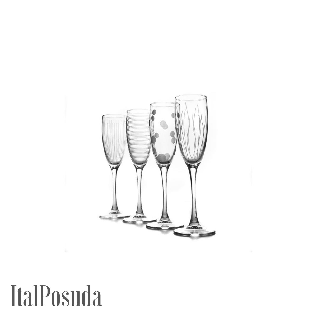 Набор фужеров для шампанского Luminarc Lounge Club (Лаундж Клаб), 4 шт N5286