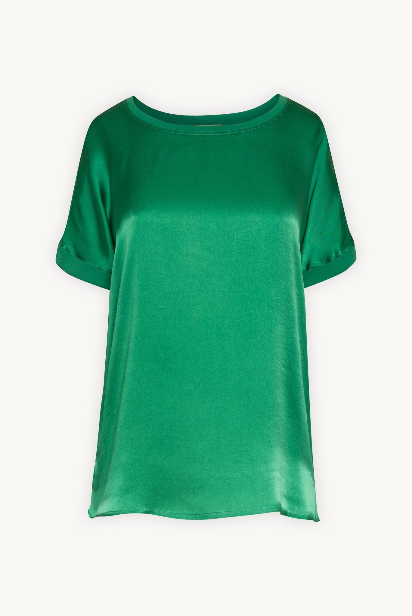 JULIANE - футболка из хлопка и шелка