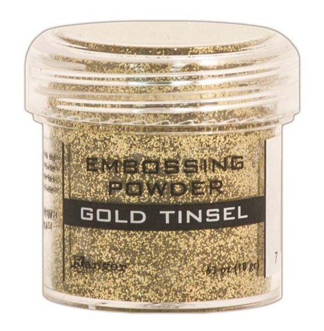 Пудра для эмбоссинга Ranger Ink- GOLD TINSEL