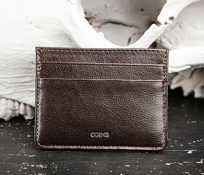 BC219-2 Тонкий кожаный кардхолдер (чехол для карточек), «Atos» фото 02