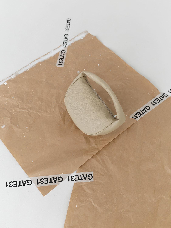 Сумка-мешок из мягкой кожи