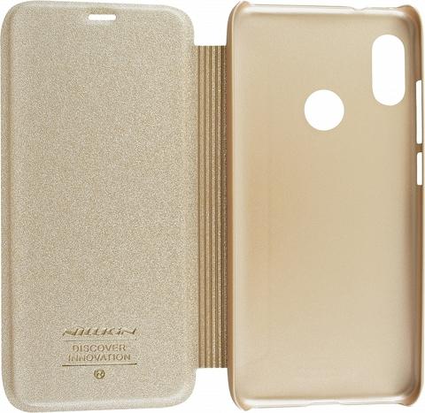 Чехол книжка Nillkin для Xiaomi MI A2 Lite Золотистая