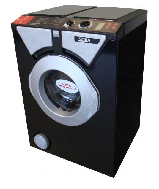 Компактная стиральная машина Eurosoba 1100 Sprint Plus Black and Silver