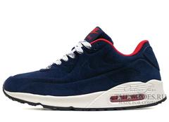 Кроссовки Nike Air Max 90 VT МЕХ Dark Blue Red White