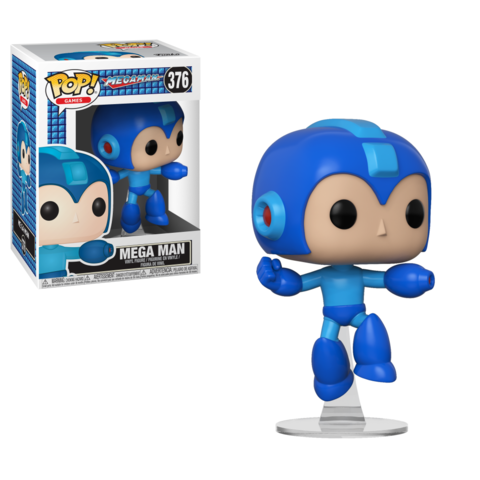 Mega Man Funko Pop! Games Vinyl Figure || Мега Мэн