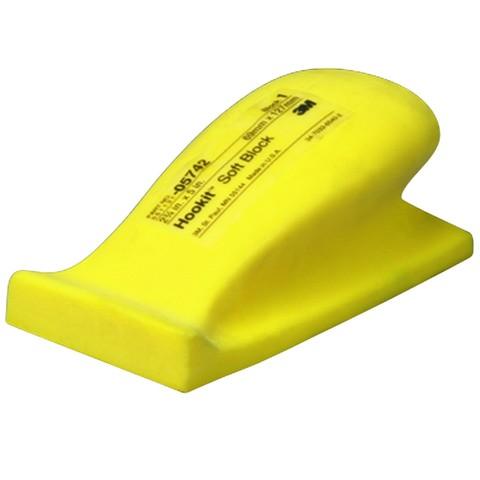 3М Мягкий шлифок, желтый 70*125  05442