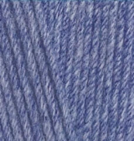 Пряжа Lanacoton Alize 374 Голубой меланж, фото
