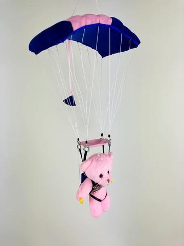 Сувенирная игрушка парашютист под куполом