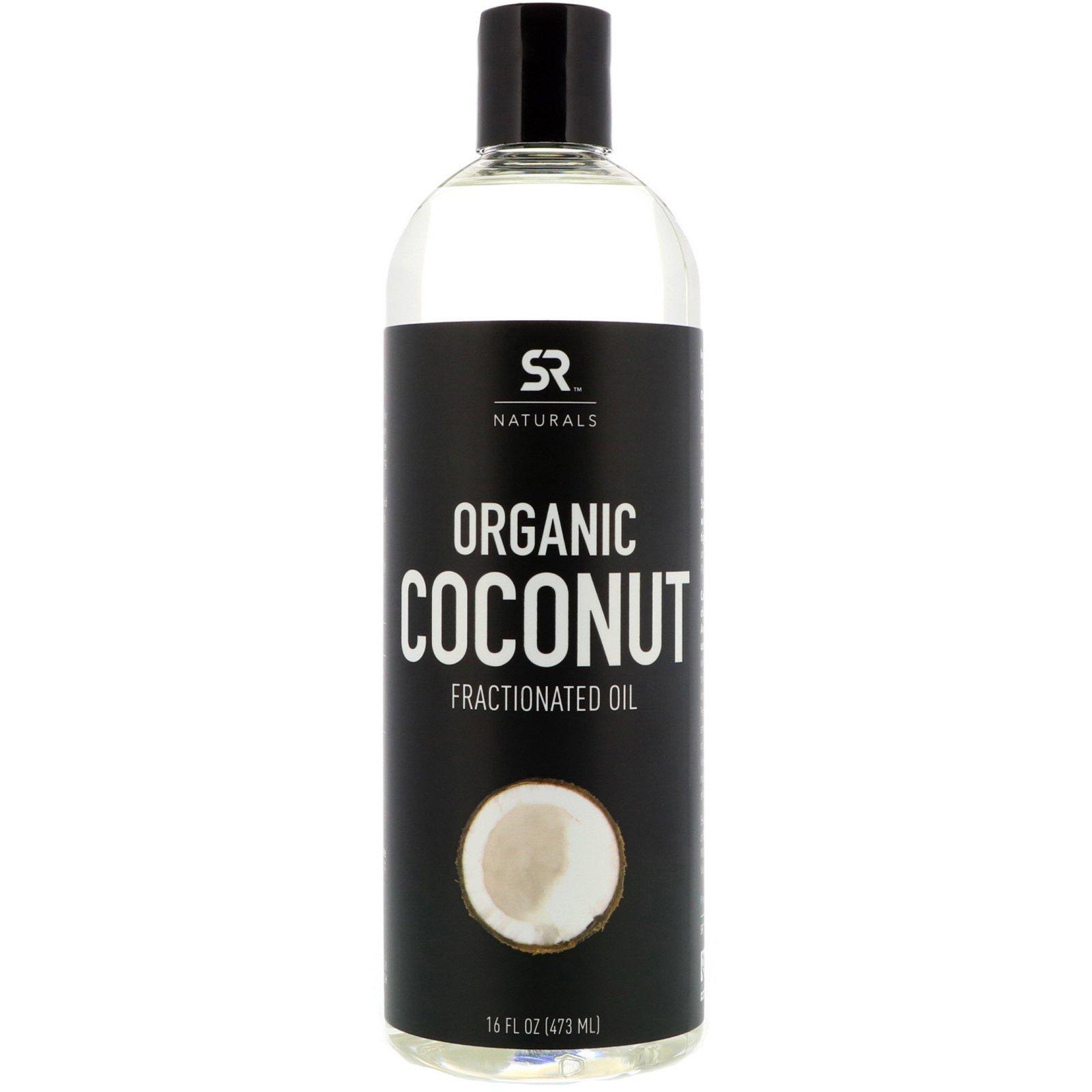 Фракционированное органическое кокосовое масло, 473 мл / Sports Research