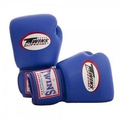 Перчатки боксерские Twins BGVL-3 для муай-тай (синие) Арт. BGVL-3