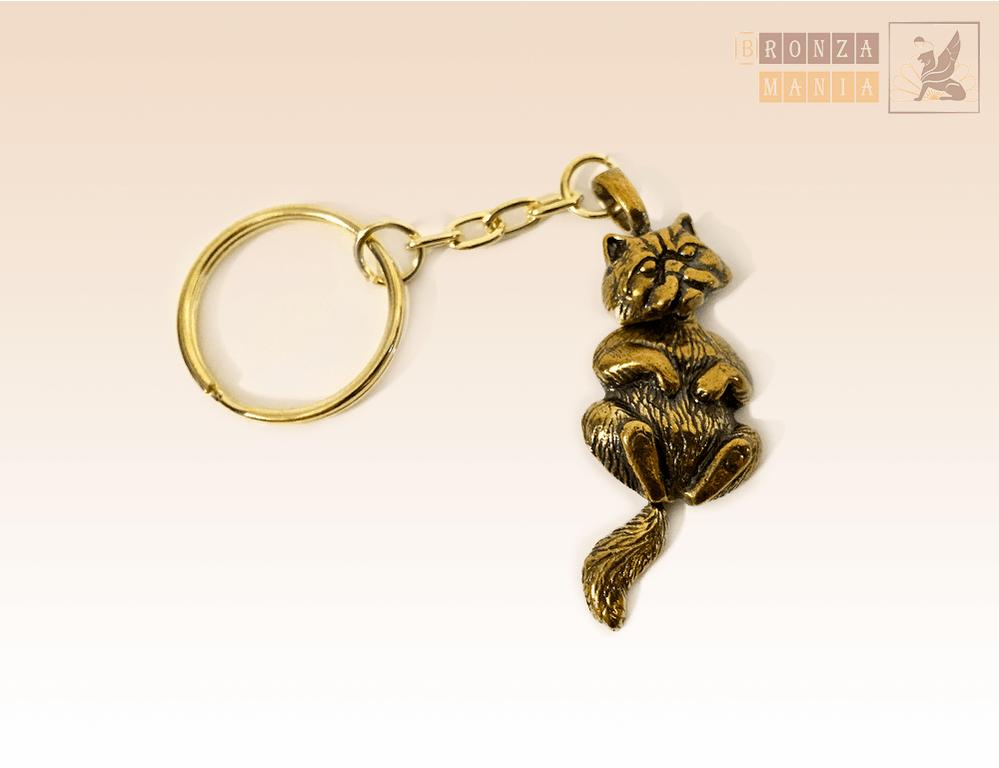 брелок Котик Блаженство (голова и хвост подвижные)