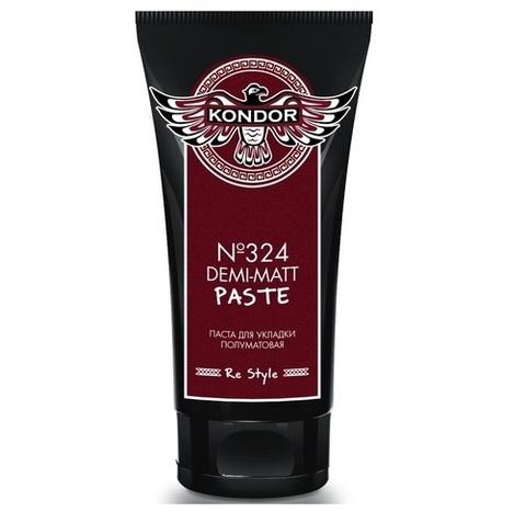 Паста полуматовая для укладки волос Ollin 50 ml