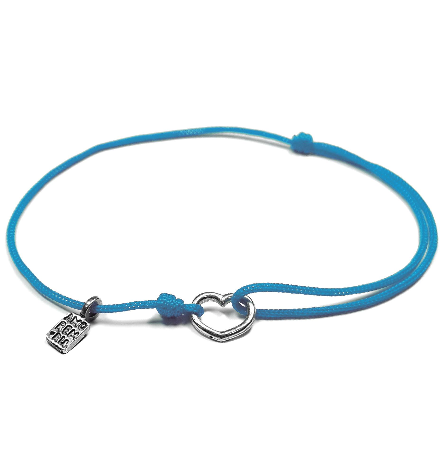 Tiny Heart Bracelet, sterling silver