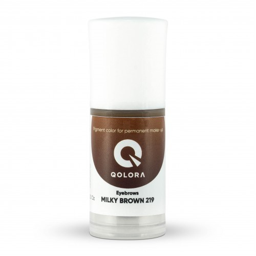 Пигмент Qolora Milky Brown 219