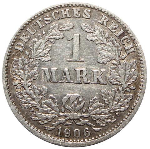 1 марка 1906 года D Мюнхен
