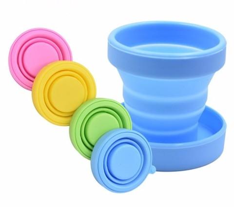 Контейнер силиконовый складной для стерилизации менструальной чаши