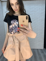 юбка с поясом на талии nadya