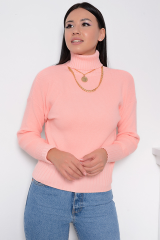 <p><span>Фактурный пуловер модного кроя-это актуальный образ на всю зиму! (Один размер: 42-48)</span></p>
