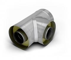 Тройник 90-сэндвич TMF ф150/250, 0,5мм, н/н