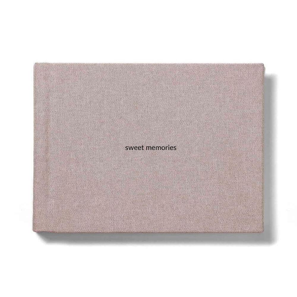 Фотокнига 20x20 ткань лен
