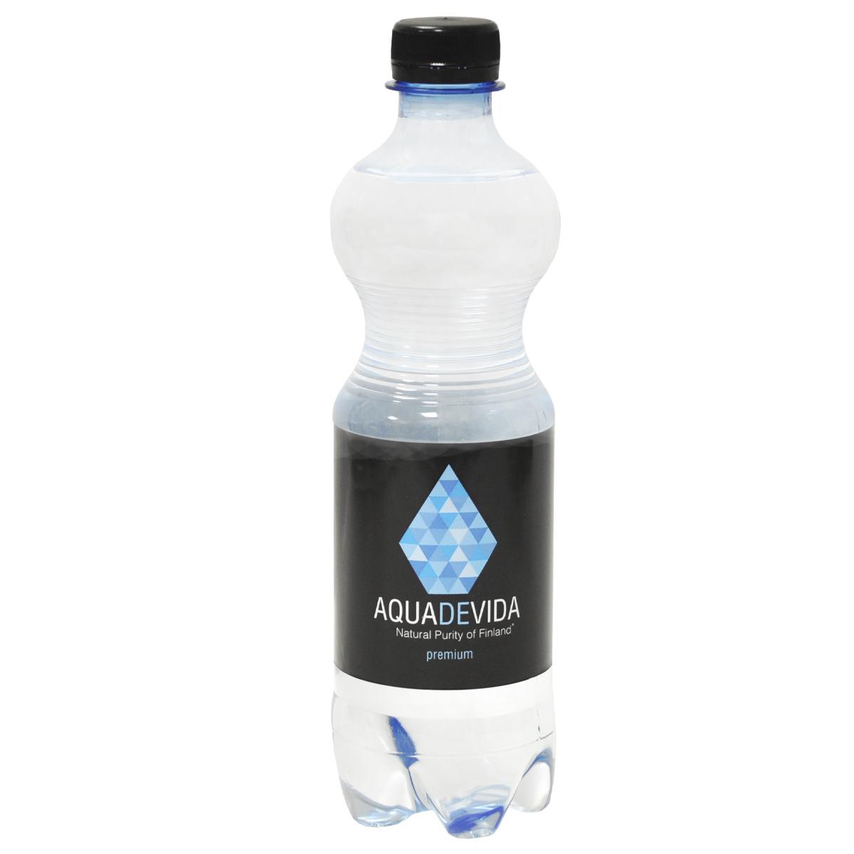 Вода родниковая AQUADEVIDA негазированная 0,5 л
