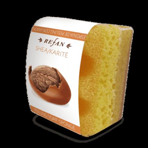 Мыло-губка с маслом ШИ ( карите)